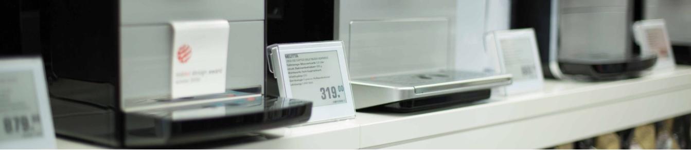 electronic shelf edge labels